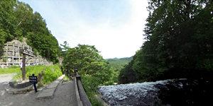 湯滝(滝上から)