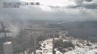 男体山が初冠雪を迎えました。