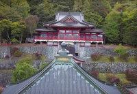 紅葉が始まった日光山中禅寺 立木観音の動画をアップしました。