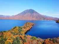 紅葉が見頃になった中禅寺湖の空撮動画をアップしました。