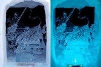 全日本氷彫刻奥日光大会が始まりました!