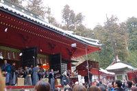 世界遺産「日光の社寺」で節分行事(豆まき、がらまき)がおこなわれました。