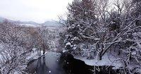 日光湯元温泉スキー場と湯滝(滝上)からの空撮動画をアップしました。