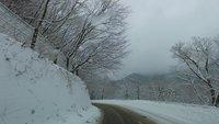 雪景色のいろは坂の車載動画をアップしました。