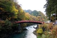 日光神橋 世界文化遺産 渡橋特別参拝