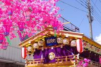 本日は弥生祭宵祭です!