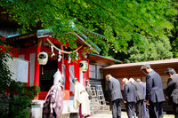 清瀧神社 湯立神事