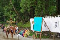 日光東照宮では春季例大祭 流鏑馬神事が行われました。