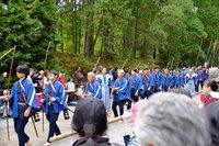 日光東照宮秋季大祭 百物揃千人武者行列が行われました。