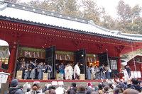 2月3日(日)に世界遺産「日光の社寺」で節分行事(豆まき、がらまき)がおこなわれます。