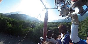 熱気球飛行体験!