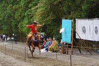 日光東照宮では秋季大祭 神事流鏑馬が行われました。