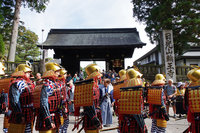 日光東照宮では秋季大祭 百物揃千人武者行列が行われました。