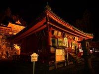 旅先の山寺「中禅寺・温泉寺」除夜で初詣