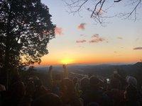 1月3日に「外山毘沙門天縁日」が行われました。