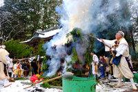 日光山興雲律院にて「年越大祭」が行われました。