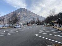4月1日から中禅寺湖畔歌ヶ浜第1駐車場バス専用駐車場への一般車両駐車できません